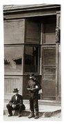 A Coal Miners Bar  George Ave Parsons Pennsylvania Early 1900s Beach Sheet