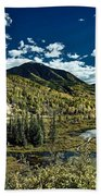 A Colorado Autumn Beach Towel