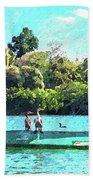 A Cormorant Cruise Beach Towel
