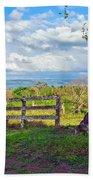 A Costa Rica View Beach Towel