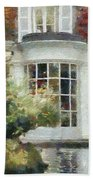A Cozy House In Brittany Beach Towel