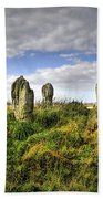 Song Of The Stones Beach Towel