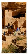 A Day At Mesa Verde Beach Towel