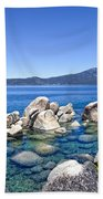 A Day At The Lake Beach Towel