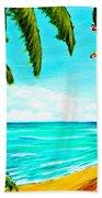 A Day In Paradise Hawaii Beach Shack  #360 Beach Towel