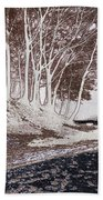 A Different World #1. Groove Of Trees Beach Towel