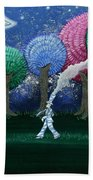 A Dream In The Forest Beach Towel