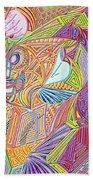 A Drop In The Sea Of Time Beach Towel