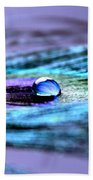 A Drop Of Royalty Beach Towel