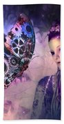 A Fairy Butterfly Kiss Beach Towel