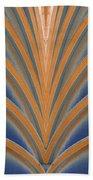 A Fan Of Art Deco Beach Towel