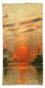 A Fjord Beach Towel by Adelsteen Normann