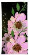 A Flower Fairy Beach Towel