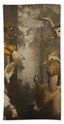 A Forest Overture Beach Towel