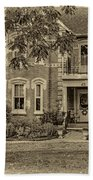 A Grand Victorian 3 - Sepia Beach Towel