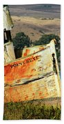 A-ground At Point Reyes Beach Towel