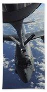 A Kc-135 Stratotanker Aircraft Refuels Beach Towel