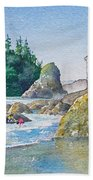 A Kingdom By The Sea Beach Towel