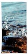 A Little Splash 3 Beach Towel