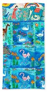 A Magic Country Beach Towel