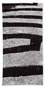 A Maze Beach Towel