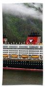 A Mickey Mouse Cruise Ship Beach Sheet