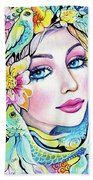 A Moment For Dreaming Beach Towel