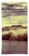 A Mystical River View Beach Towel