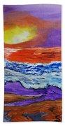 A New Day Beach Towel
