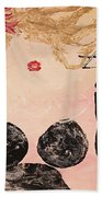 A Night Out Beach Towel