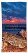 A Painted Sky For The Poet's Eye Beach Towel