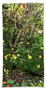 A Place Along The Way To Stop And Rest Beach Towel by Eikoni Images