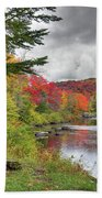 A Place To View Autumn Beach Towel
