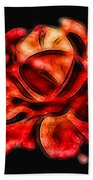 A Red Rose For You 2 Beach Towel