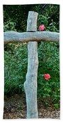 A Rose For Jesus Beach Towel