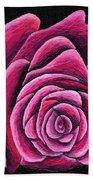 A Rose In Time Beach Towel