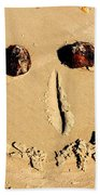 A Smile For You Beach Towel