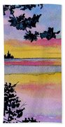 A Song Of Color Beach Towel