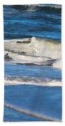 A Splash In The Surf Beach Towel