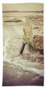 A Stake In The Beach Beach Towel