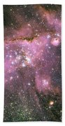 A Star-forming Region In The Small Beach Towel