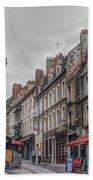 A Street In Boulogne Beach Towel