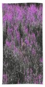 A Suggestion Of Wildflowers Beach Towel