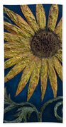 A Sunflower Beach Towel