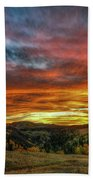 A Sunset To Remember Beach Towel