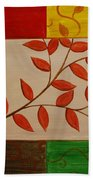 A Touch Of Fall Beach Towel