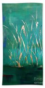 A Touch Of Teal Beach Towel