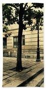 A Tree Grows In Barcelona Beach Towel