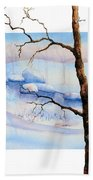 A Tree In Another Dimension Beach Towel