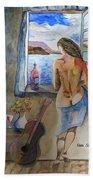 A Tribute To Salvador Dali Beach Towel
